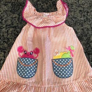 Precious summery beach dress 3T never worn